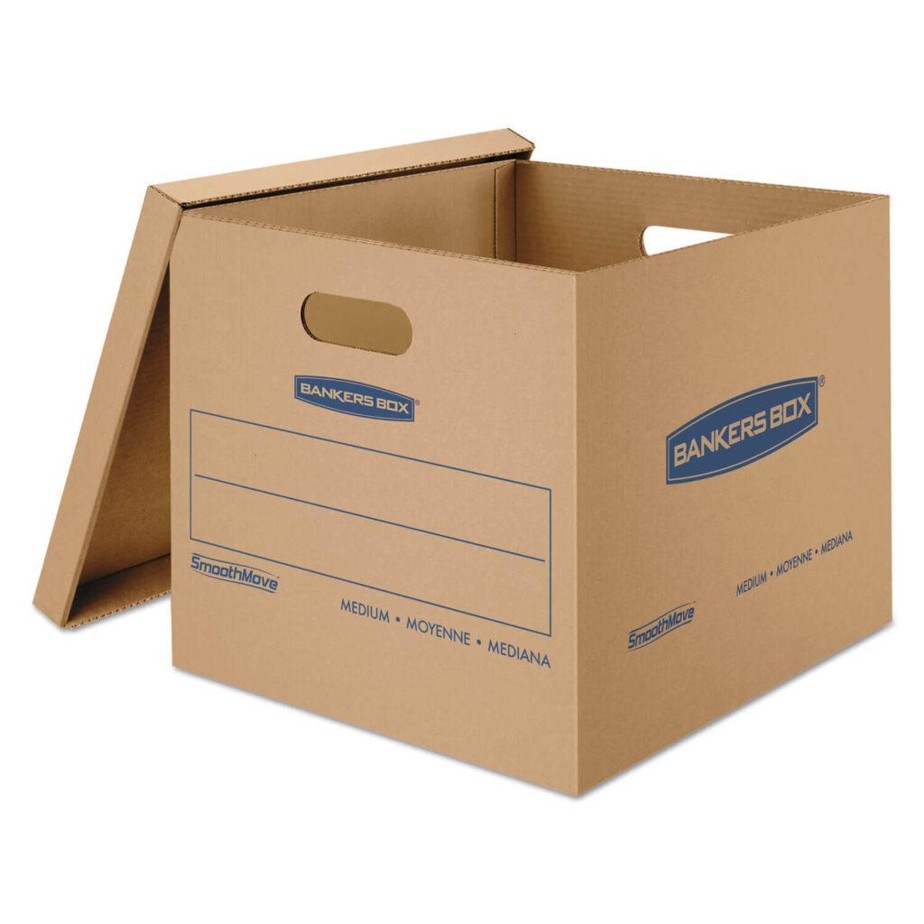 جعبه نیمه شکافدار - انواع کارتن بسته بندی در کارتن سازی گلبرگ