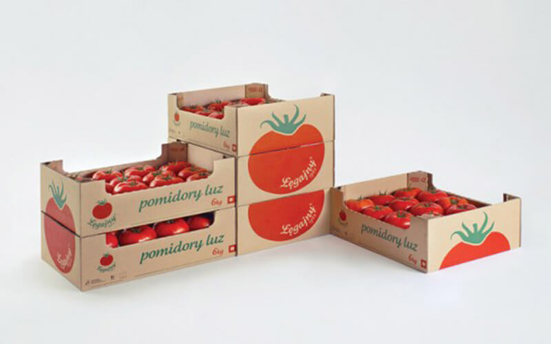 کارتن بسته بندی گوجه