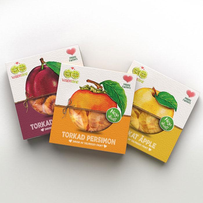 کارتن بسته بندی میوه خشک