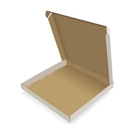 انواع جعبه های مقوایی- جعبه به سبک پیتزا
