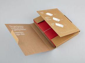 انواع جعبه های مقوایی-کیف پول بسته بندی