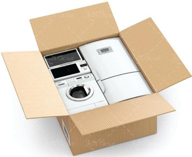Carton box for home appliances2