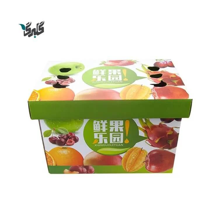 کارتن میوه برای جا به جایی و صادرات