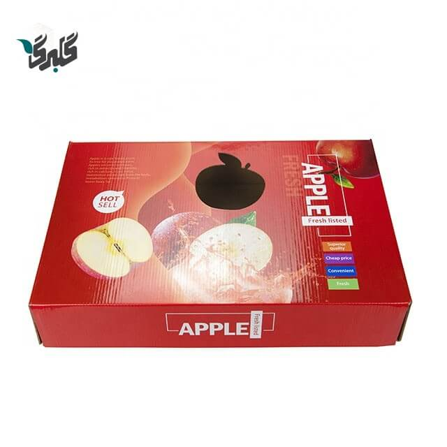 کارتن بسته بندی سیب