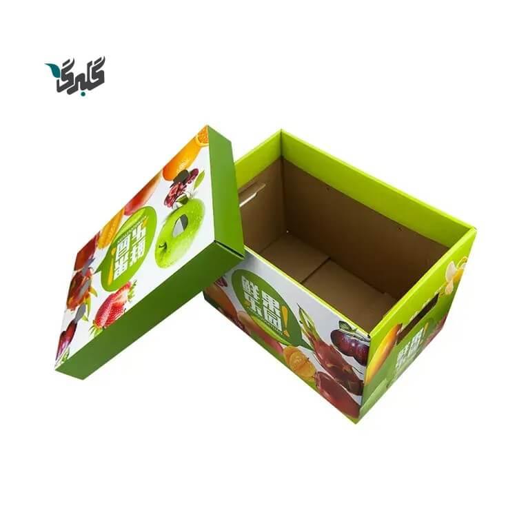 کارتن بسته بندی میوه صادراتی