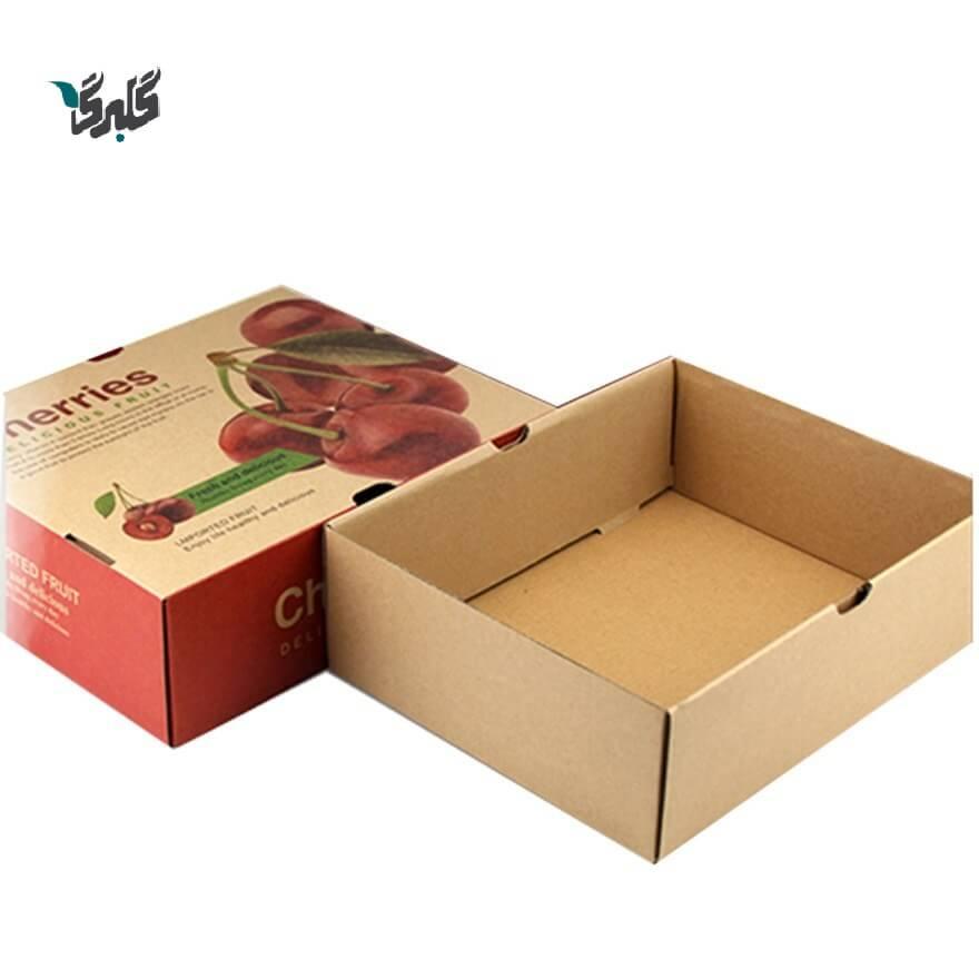 جعبه میوه سه لایه
