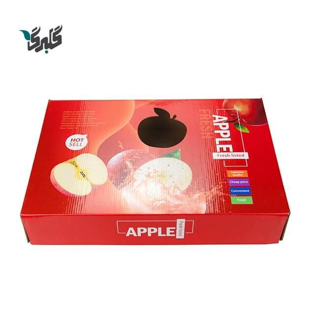 کارتن میوه و سیب