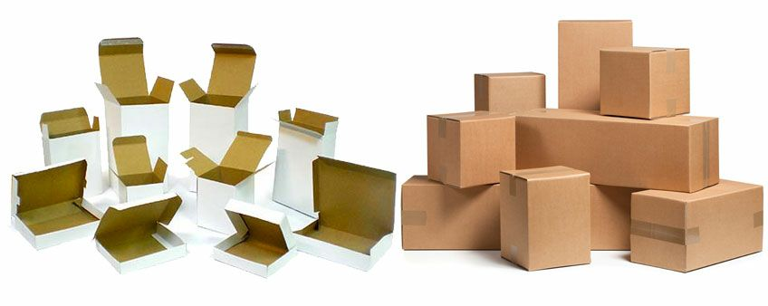 Production of packaging cartons
