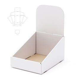 انواع جعبه های مقوایی_جعبه قفسه ای آماده