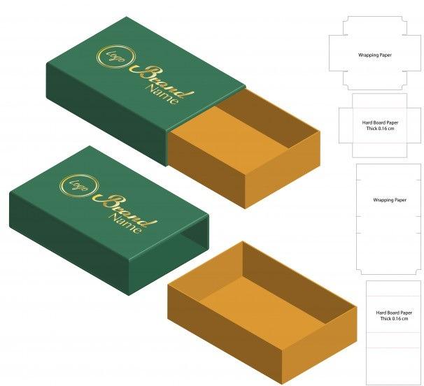 تولید کارتن خرما- انواع کارتن بسته بندی خرما- کارتن کشویی