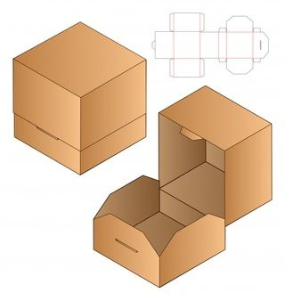 انواع جعبه های مقوایی-قفل دار