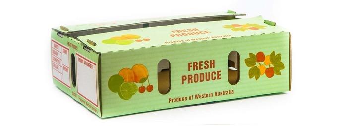 کارتن میوه با کیفیت برای صادرات
