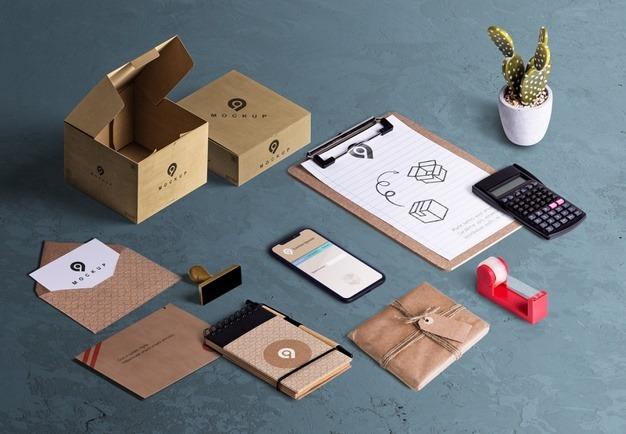 اهکیت بسته بندی محصولات