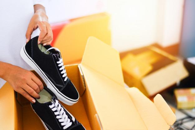بسته بندی کارتن کفش- جعبه کارتن کفش- جعبه کفش از کجا بخرم؟