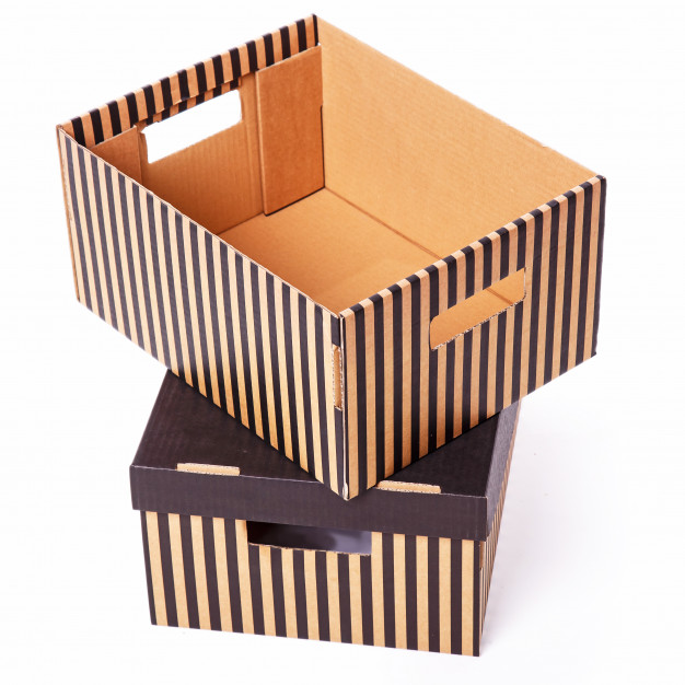 7 نوع جعبه بسته بندی رایج در دنیا_جعبه راه راه